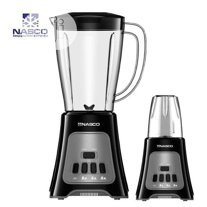 Archive: Nasco 1.5 Liter Standing Blender With Grinder (400 Watts)