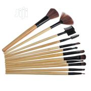 PU Hand Bag Package 12 Sticks Makeup Brush Set | Makeup for sale in Lagos State, Lagos Island