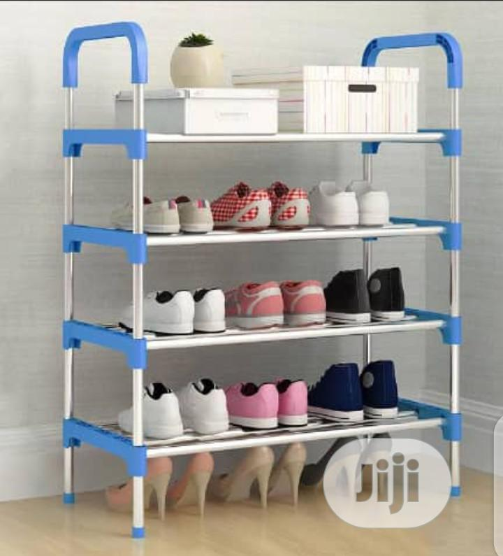 Strong Stainless Steel Shoe Rack