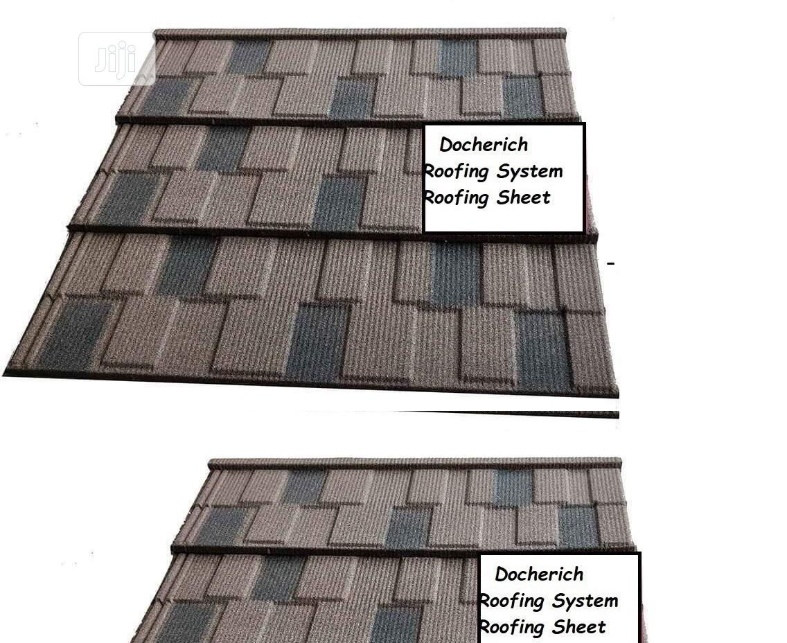 Good and Very Solid With 50yrs Warranty Roofing Sheet Stone Coated In