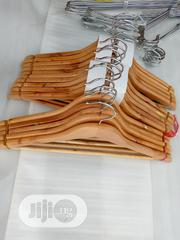 Wooden Hangers Foreign (10pcs) | Home Accessories for sale in Lagos State, Lagos Island