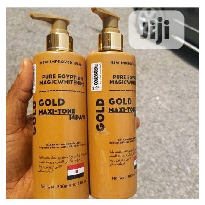 Archive: Pure Egyptian Magic Whitening Gold Maxitone Lotion