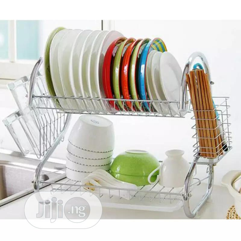16 Inch Stainless Plate Rack   Kitchen & Dining for sale in Lagos Island (Eko), Lagos State, Nigeria