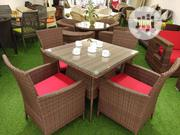 Morning Peak Outdoor Rattan Chair And Table | Furniture for sale in Lagos State, Yaba
