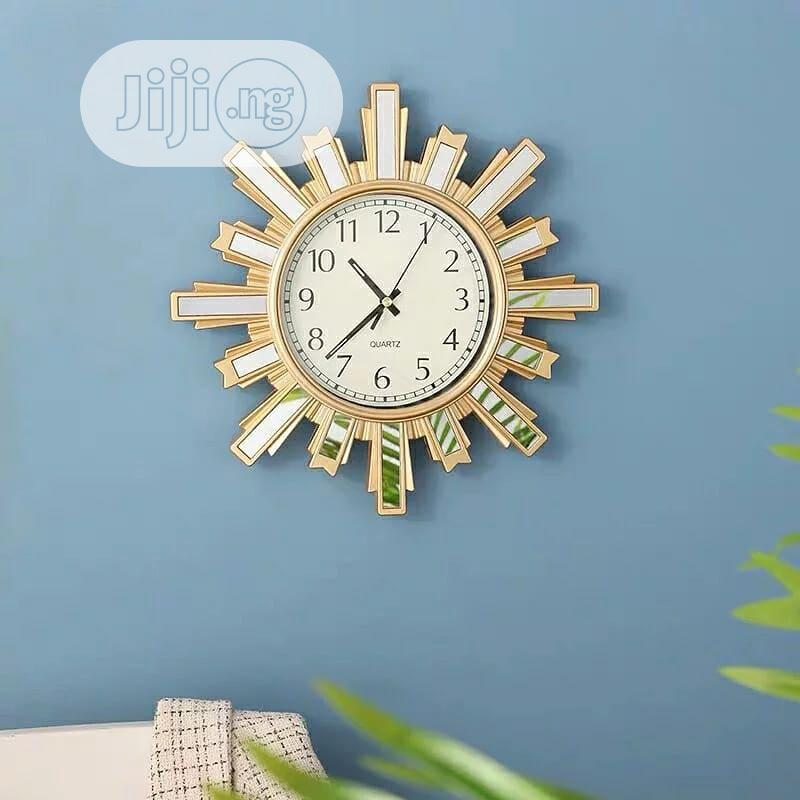 Nordic Wall Clock | Home Accessories for sale in Lagos Island, Lagos State, Nigeria