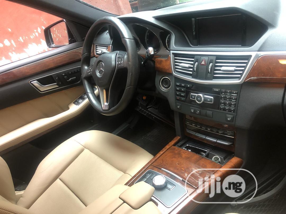 Mercedes-Benz E350 2013 Black | Cars for sale in Ikeja, Lagos State, Nigeria