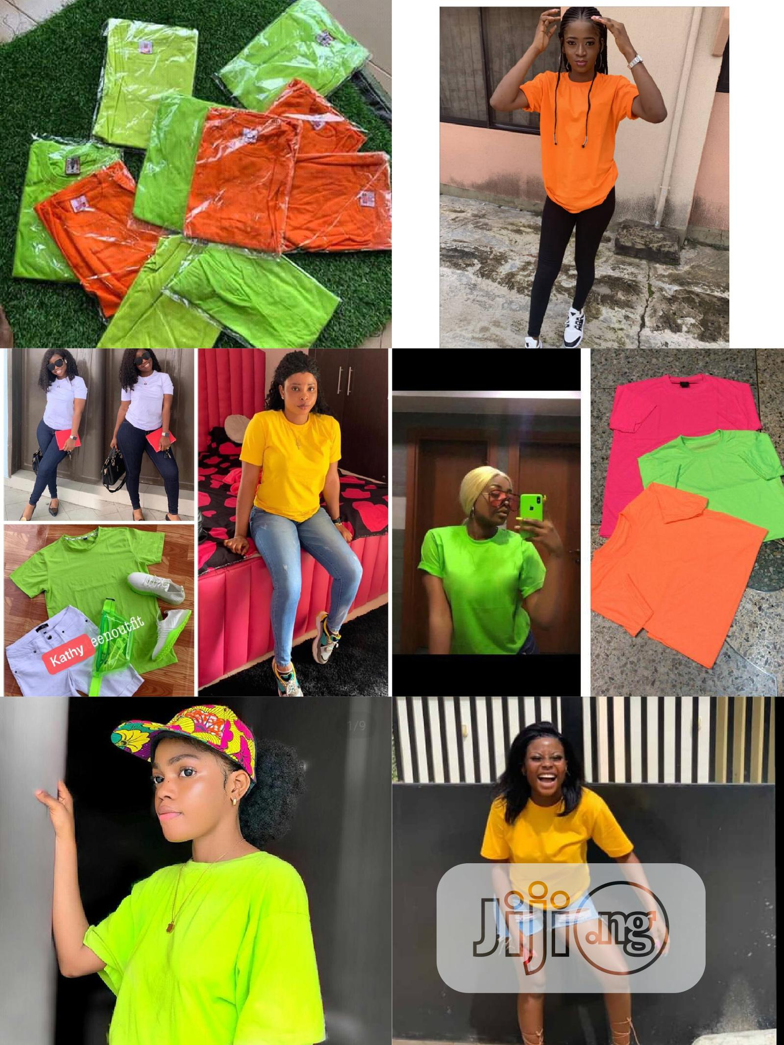 Get 10 Plain Tee Shirt | Clothing for sale in Yaba, Lagos State, Nigeria
