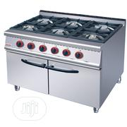6 Burners Industrial Gas Cooker | Restaurant & Catering Equipment for sale in Lagos State, Ojo