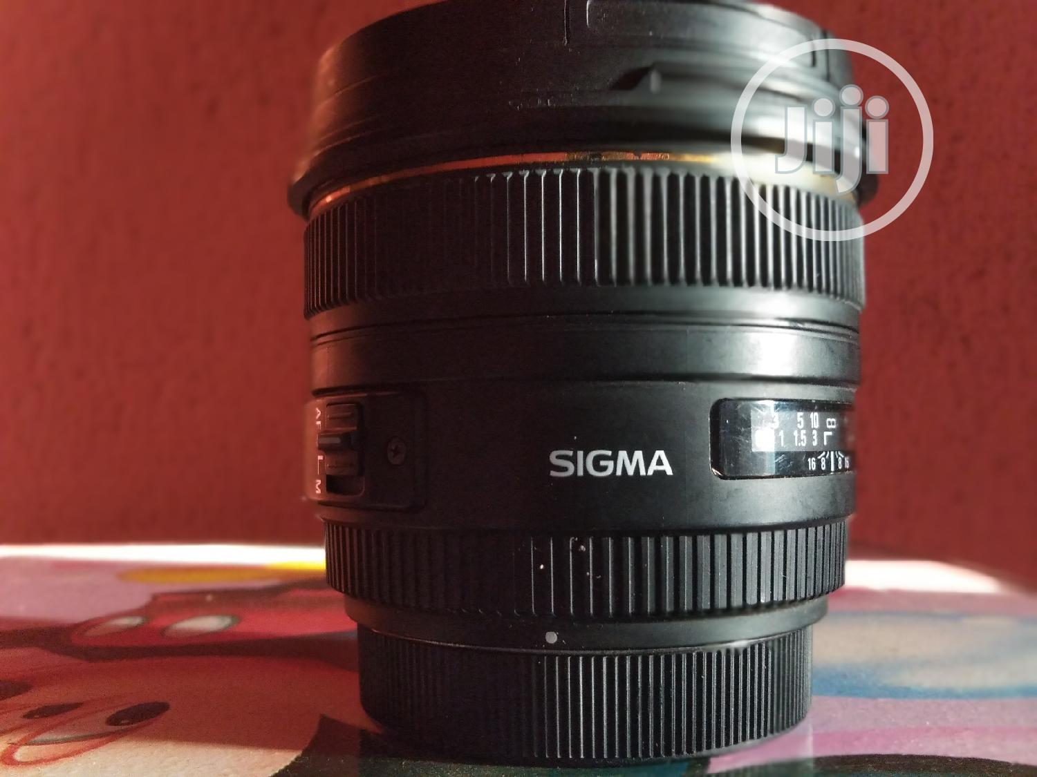 Sigma 50mm F/1.4 EX DG HSM Lens For Canon EF | Accessories & Supplies for Electronics for sale in Isolo, Lagos State, Nigeria