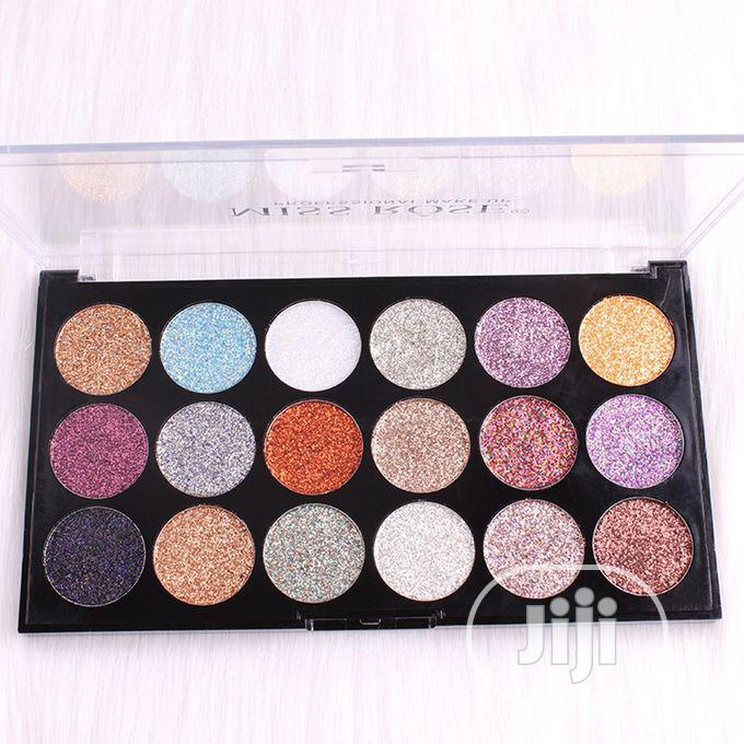 Archive: Miss Rose 18 Colors Eyeshadow Palette Beauty Makeup Matte Cosmetic 1#
