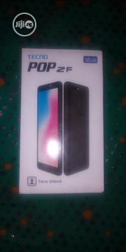 New Tecno Pop 2F 16 GB Gold | Mobile Phones for sale in Lagos State, Alimosho