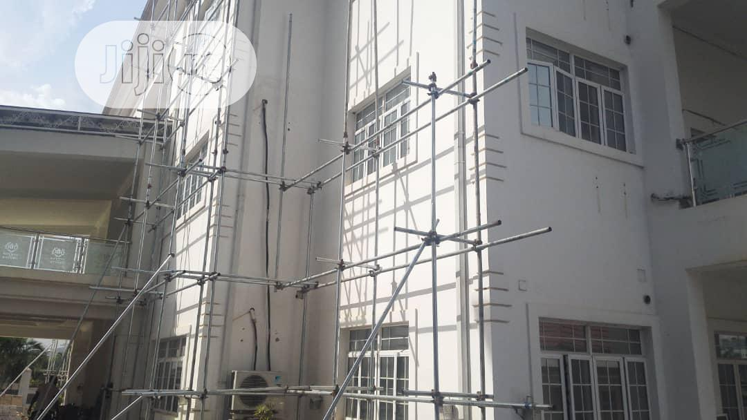 Hiring Of Scaffolds   Building & Trades Services for sale in Central Business Dis, Abuja (FCT) State, Nigeria