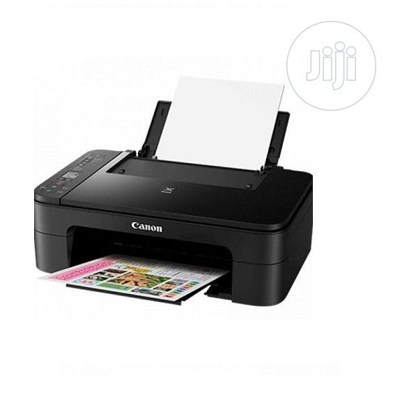 Canon Pixma TS3140 AIO Wireless Printer Print, Scan & Copy | Printers & Scanners for sale in Ikeja, Lagos State, Nigeria