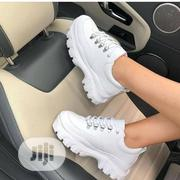 White Female Sneakers | Shoes for sale in Lagos State, Surulere