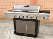 6 Burner BBQ With Side Cooker | Kitchen Appliances for sale in Lagos State, Ojo
