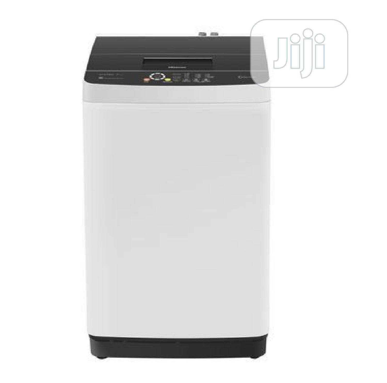 Hisense 8kg Automatic Top Load Smart Washing Machine WTS802 | Home Appliances for sale in Surulere, Lagos State, Nigeria