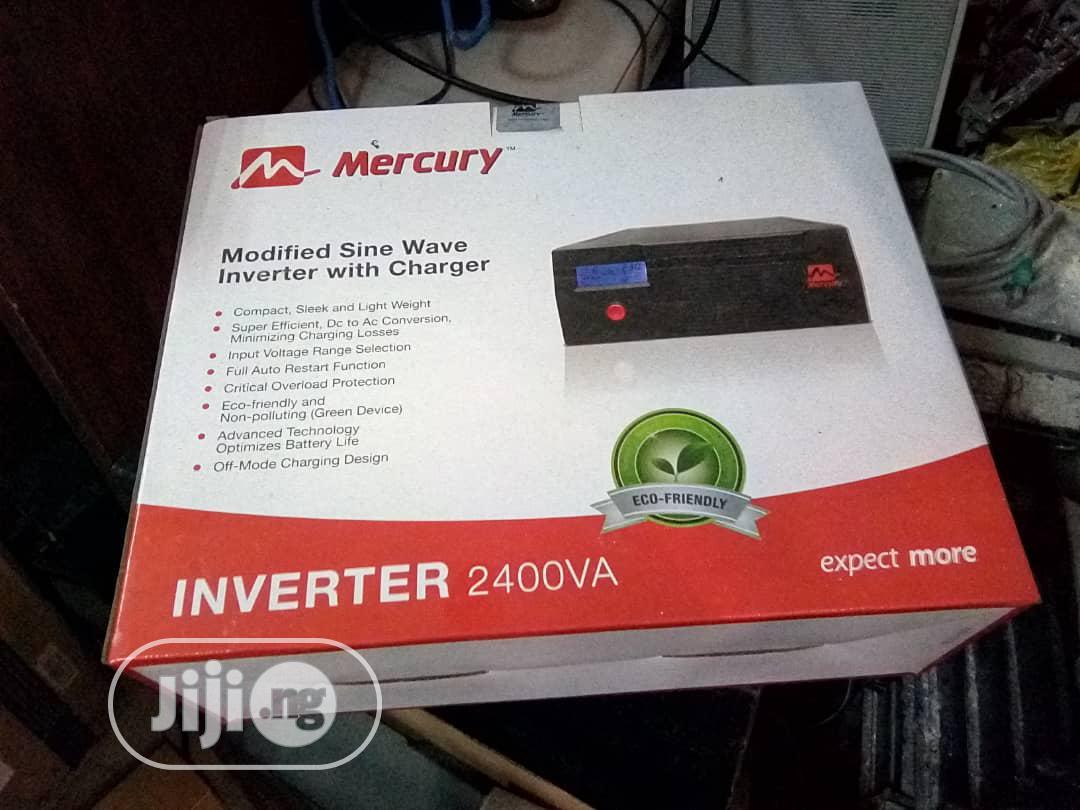 Archive: Mercury Inverter 2.4kva