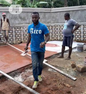 Professional Stamping Concrete Floor Service | Cleaning Services for sale in Lagos State, Gbagada