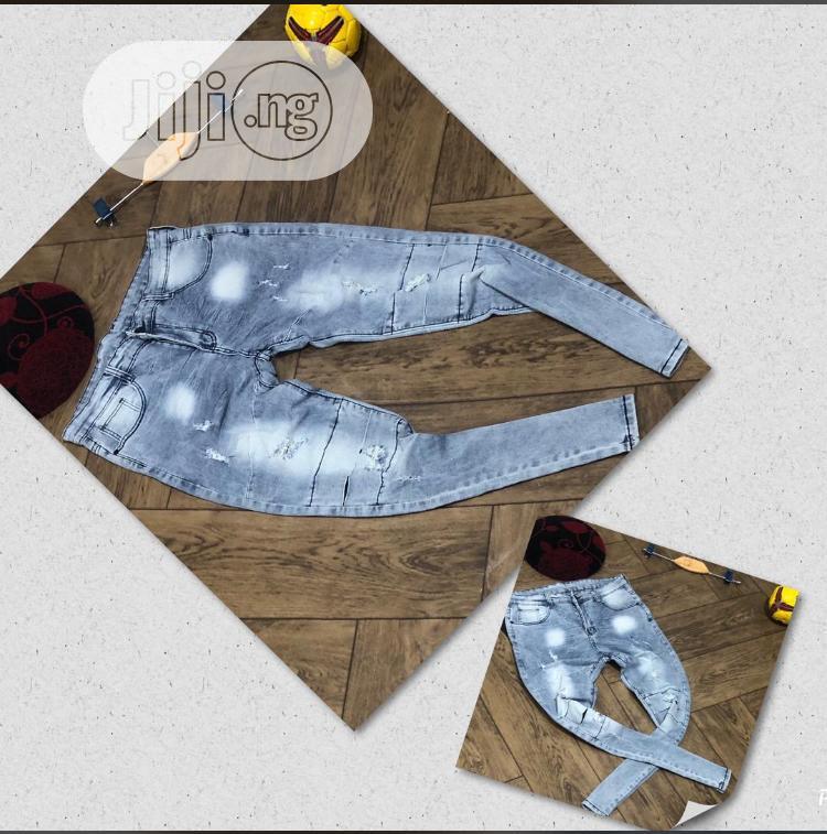 Male Stock Jean