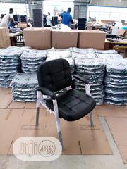 Brand New Imported Super Quality Leather Office Chair With Metal Leg | Furniture for sale in Lagos State, Yaba