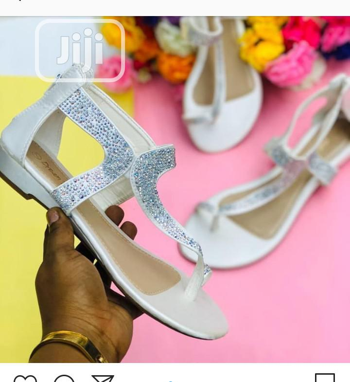 Ladies Quality Flat Sandals | Shoes for sale in Ikeja, Lagos State, Nigeria