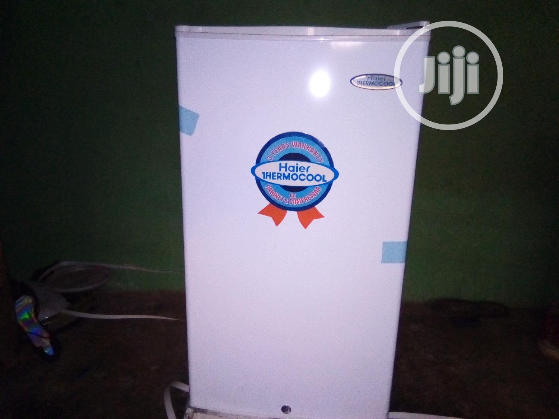 Mini Single Door Refrigerator.