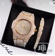 Gold Wristwatch And Bracelet | Jewelry for sale in Lagos State, Lagos Island