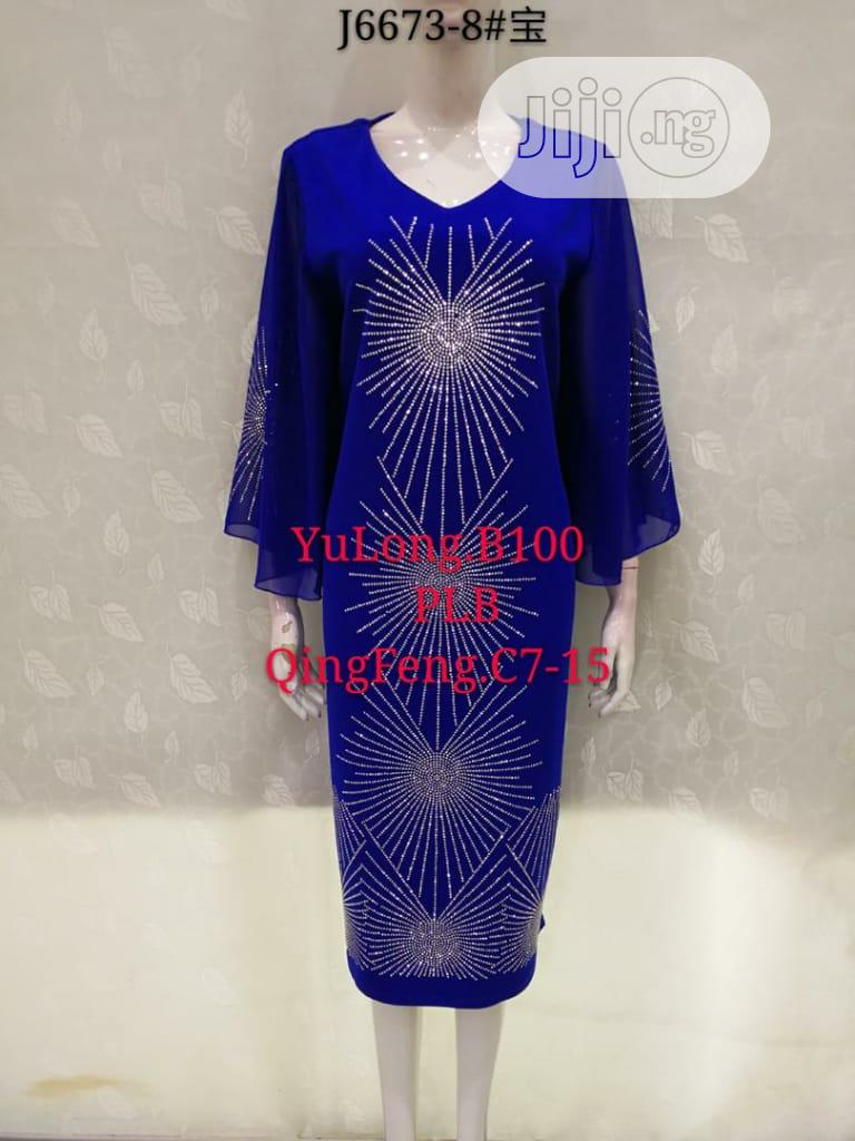 Female Formal Stoned Dress | Clothing for sale in Ikeja, Lagos State, Nigeria