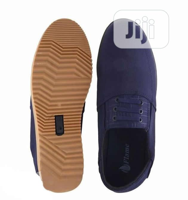 Flames Casual Loafers - Blue | Shoes for sale in Agege, Lagos State, Nigeria