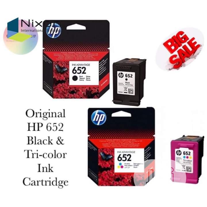 Hp Black Ink 652