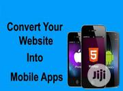 Covert Your Website to Mobile App | Computer & IT Services for sale in Rivers State, Port-Harcourt