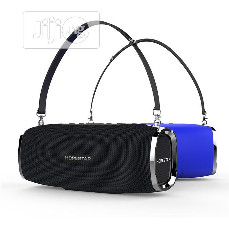 HOPESTAR A6 Portable Bluetooth Speaker 34W Three Units 6000mah IPX6 Wa | Audio & Music Equipment for sale in Ikeja, Lagos State, Nigeria