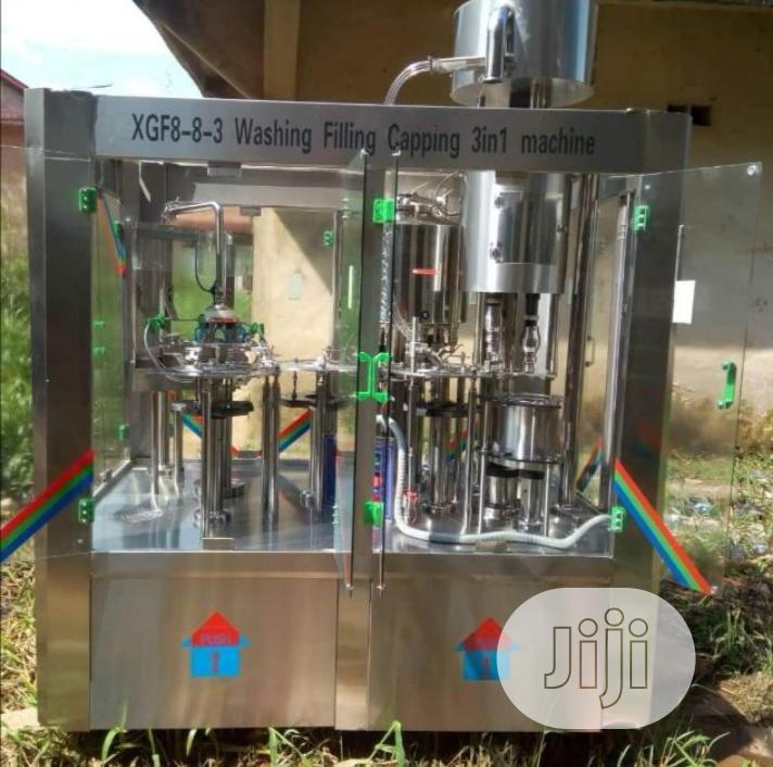 Complete Bottle Water Making Machine