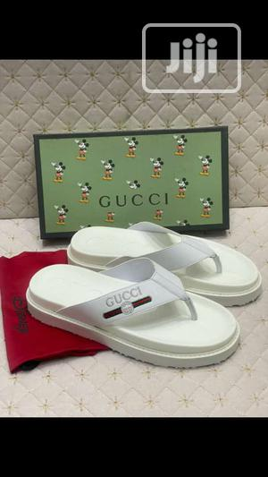 High Quality Italian Pure White Gucci Palm | Shoes for sale in Lagos State, Surulere