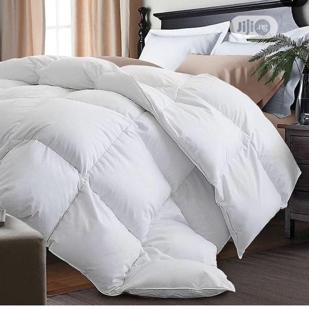 DUVET ONLY (Pure American White Cotton Duvet)