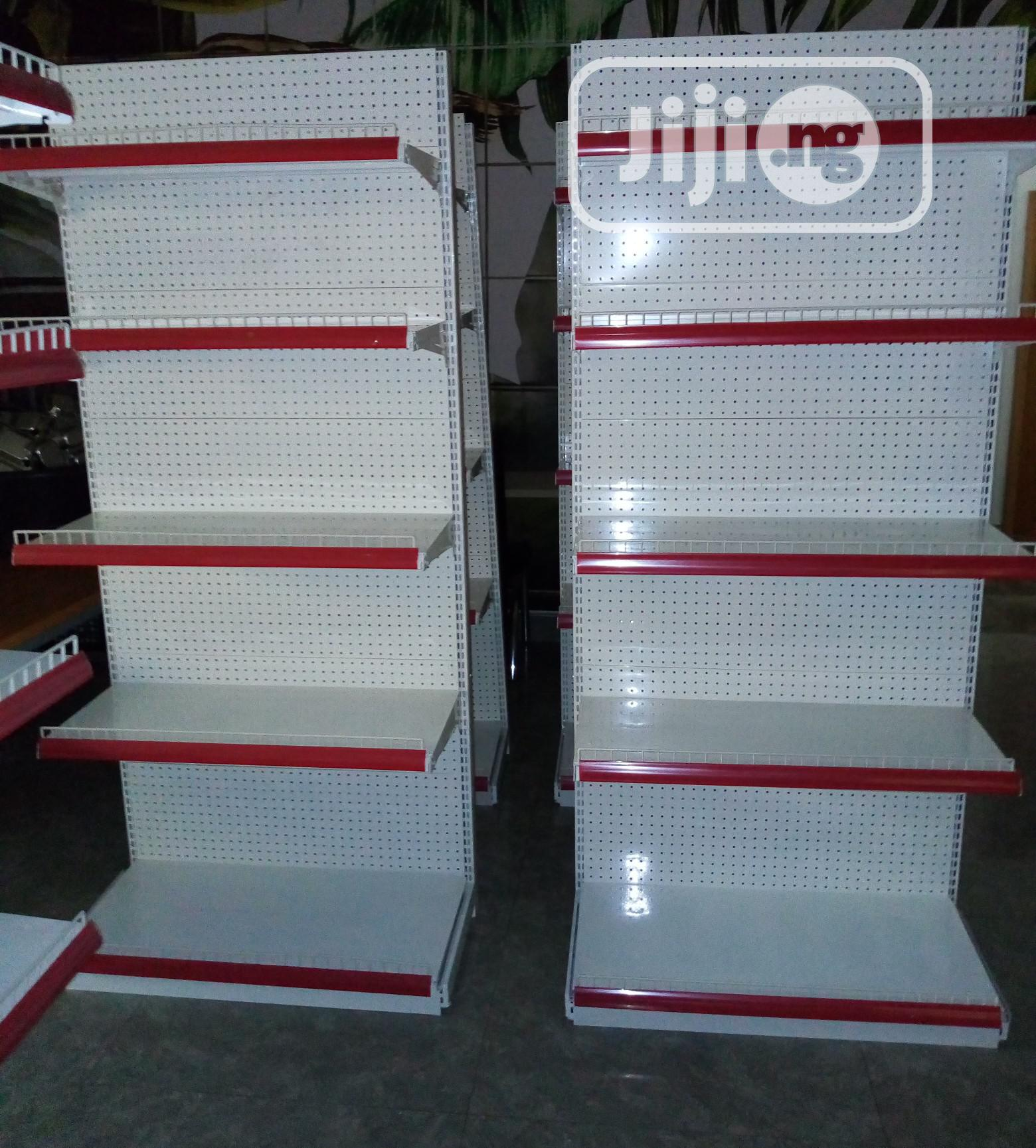 Super Quality Imported Single Phase Supermarket Shelf | Store Equipment for sale in Ojo, Lagos State, Nigeria