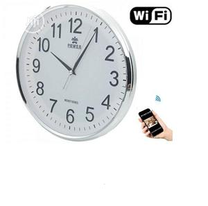 Wifi Series Wall Clock Hidden Spy Camera | Security & Surveillance for sale in Lagos State, Ikeja