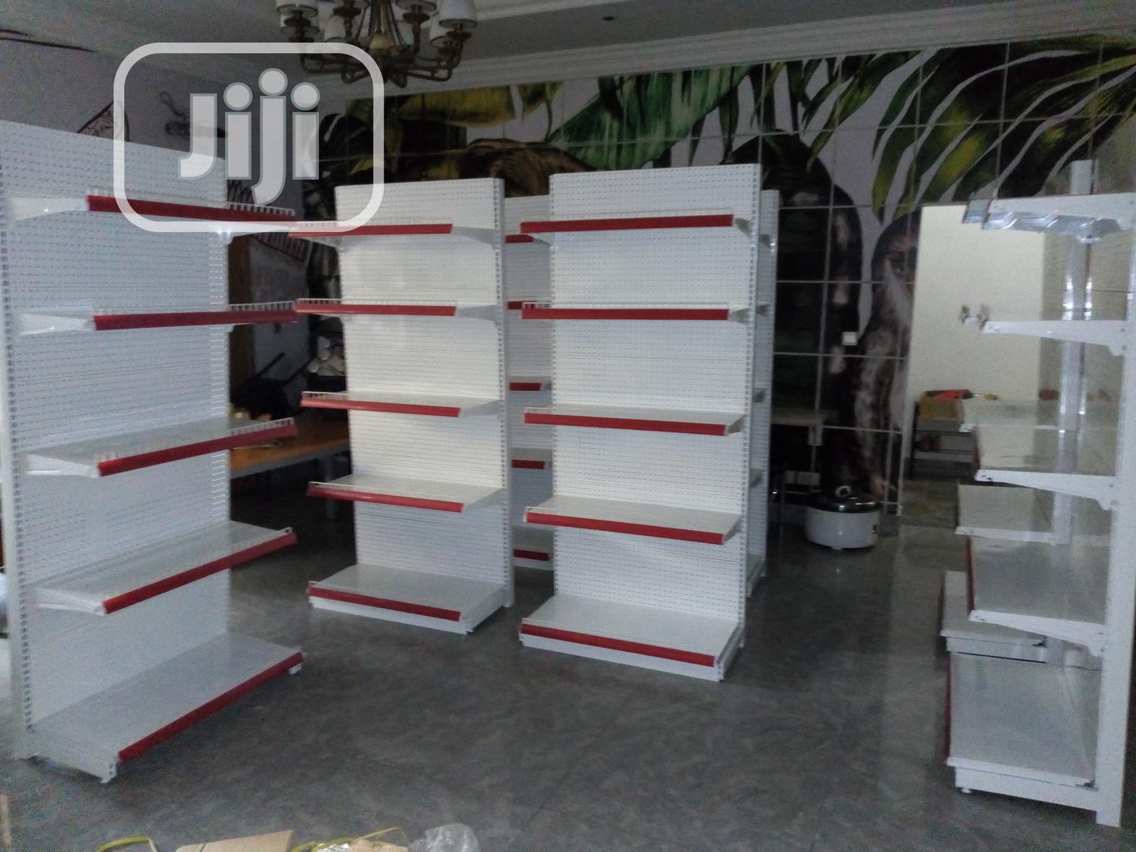 Super Quality Imported Single Phase Supermarket Shelf