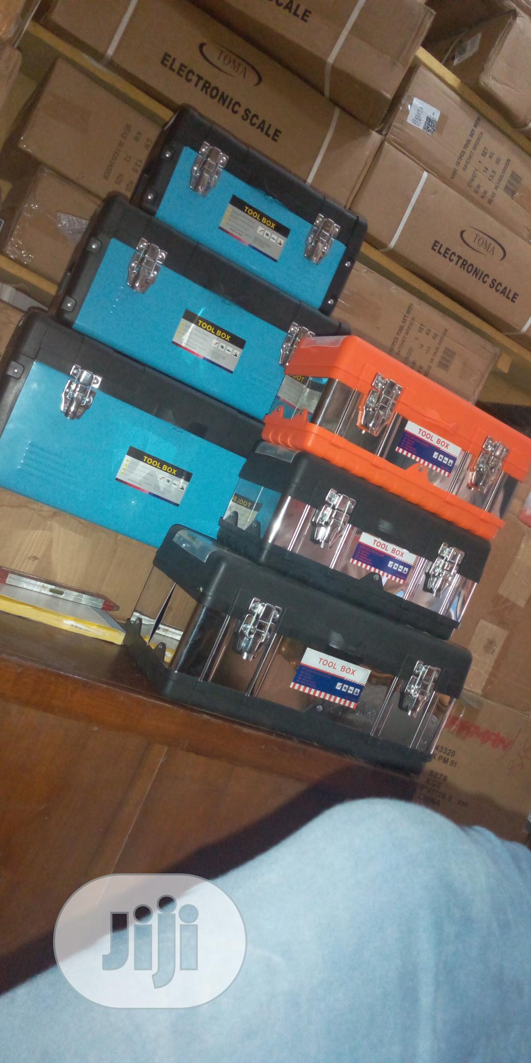 Empty Plastic Tools Boxes