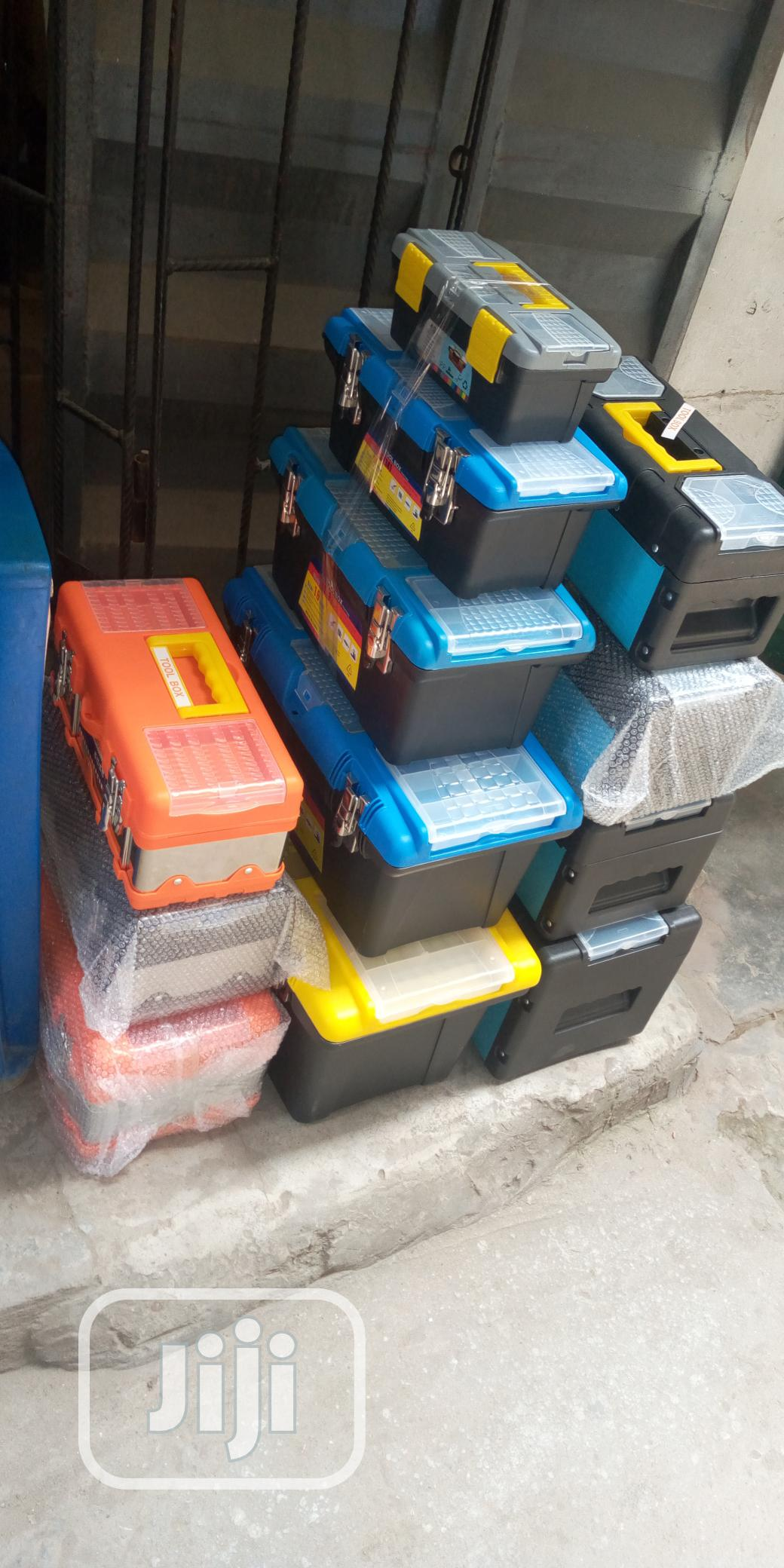 Empty Plastic Tools Boxes   Hand Tools for sale in Ojo, Lagos State, Nigeria