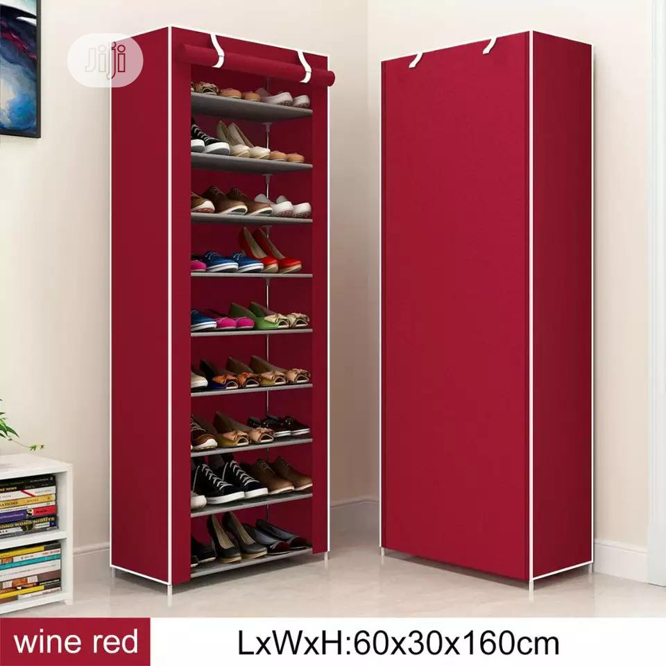 Shoe Rack With Cover | Home Accessories for sale in Lagos Island (Eko), Lagos State, Nigeria