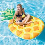 Intex 58761 Inflatable Pineapple Mat With Pump | Sports Equipment for sale in Lagos State, Amuwo-Odofin