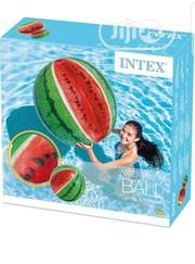 Intex 58075NP Inflatable Watermelon Ball + Pump | Sports Equipment for sale in Lagos State, Amuwo-Odofin