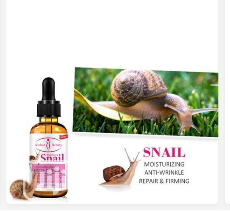Aichun Beauty Collagen+Vitamin E Snail Face Whitening Serum- 99%   Skin Care for sale in Mushin, Lagos State, Nigeria
