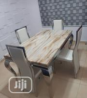 Brand New and Imported 4-Seater Marble Dining Table   Furniture for sale in Lagos State, Ajah