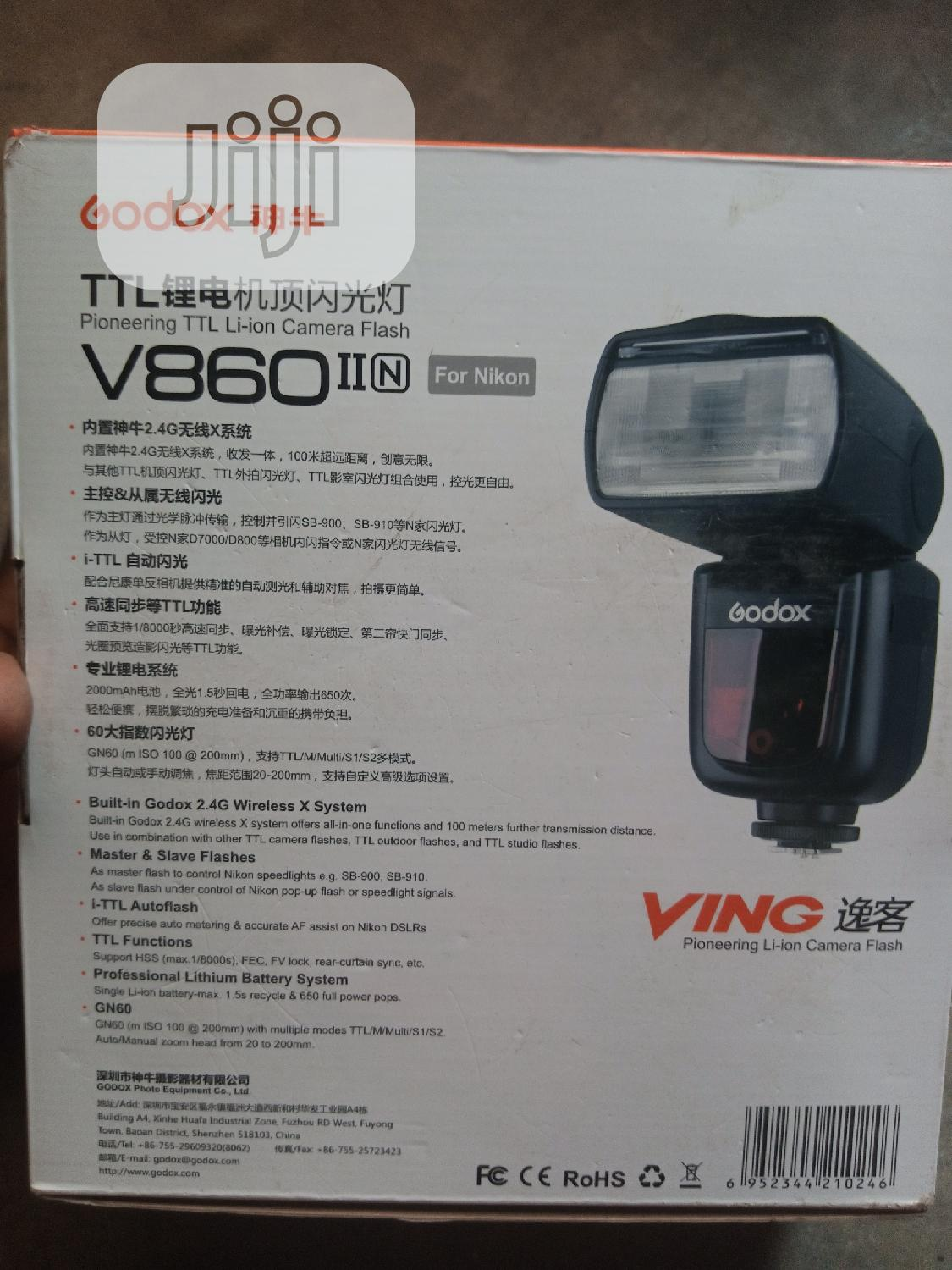 Godox V860 II For Nikon | Accessories & Supplies for Electronics for sale in Lagos Island, Lagos State, Nigeria
