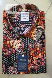 Red Black Vintage Designer's Shirts by Ricardo Martinez | Clothing for sale in Lagos State, Lagos Island