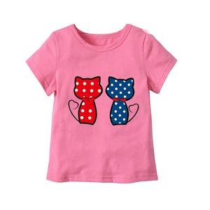 Kid Girls Pink Short Sleeve Top   Children's Clothing for sale in Lagos State, Agboyi/Ketu