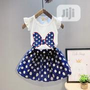 Girls 2pcs Short Sleeve Top and Skirt Clothing Set | Children's Clothing for sale in Lagos State, Agboyi/Ketu