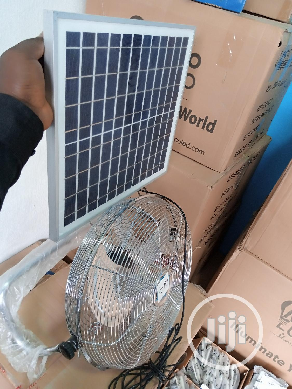 Small Industrial Solar Obit Fan
